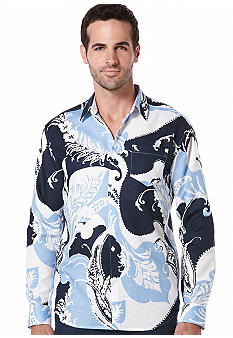 Cubavera Large Ornate Pattern Shirt