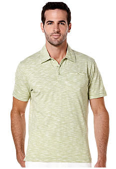 Cubavera Cotton Slub Knit Polo