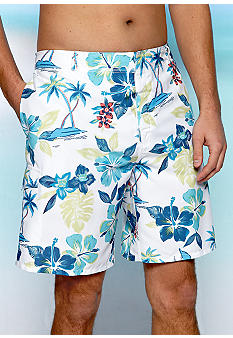 Cubavera Tropical Printed Board Shorts