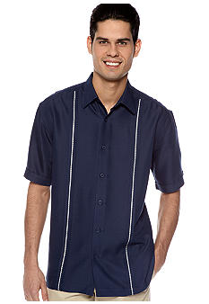 Cubavera Tucked Panel Shirt