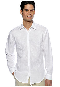 Cubavera® Ornate Embroidered Shirt