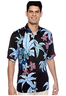 Cubavera Tropical Print Shirt