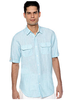 Cubavera Stripe 2 Pocket Shirt