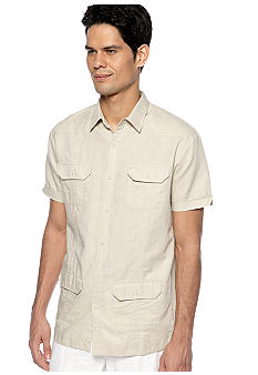 Cubavera Embroidered Guayabera Shirt