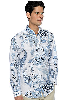 Cubavera Ornate Printed Shirt
