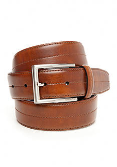 Nautica 35mm Feather Edge Center Stitch Casual Belt