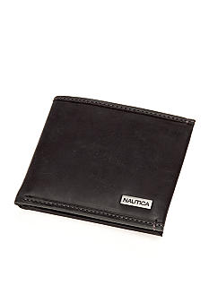 Nautica Cow Snow Passcase Wallet