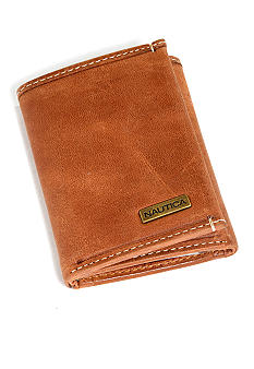 Nautica Cow Snow Trifold Wallet