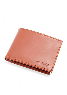 Nautica Genuine Leather Passcase