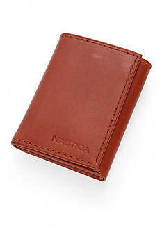 Nautica Genuine Leather Trifold Wallet