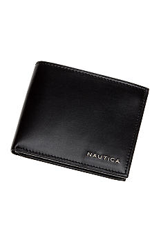 Nautica Men's Passcase Weatherly Wallet