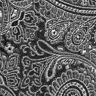 Men: Regular Sale: Black Countess Mara Augustin Paisley Tie