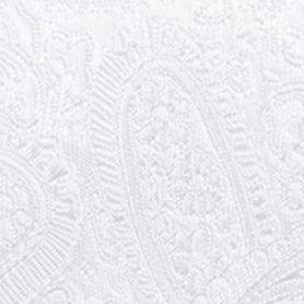 Men: Regular Sale: White Countess Mara Augustin Paisley Tie