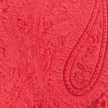 Men: Regular Sale: Red Countess Mara Augustin Paisley Tie