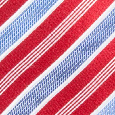 Men: Regular Sale: Red Countess Mara Stamford Striped III Tie