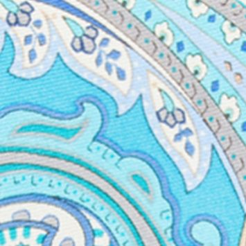 Young Mens Neckties: Seafoam Countess Mara Marrakesh Paisley Tie
