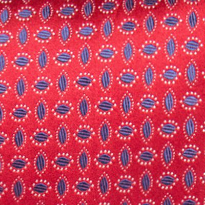 Young Mens Neckties: Red Countess Mara Moresco Neat Tie