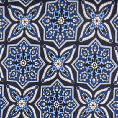 Men: Regular Sale: Blue COUNTESS MARA Hamilton Medallion Tie