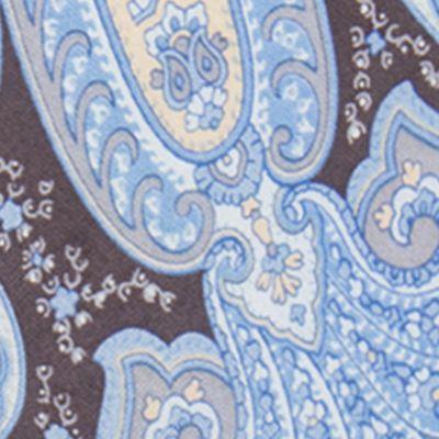 Men: Regular Sale: Medium Blue COUNTESS MARA Pierce Paisley Tie