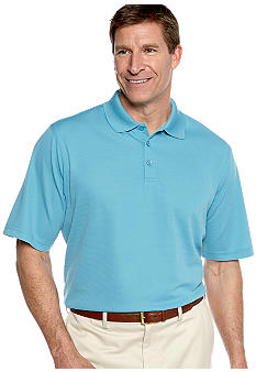 Saddlebred® Big & Tall Textured Polo