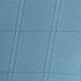 Performance Polo Shirts for Men: Mediterrainian Blue Saddlebred Big & Tall Text Block Performance Polo