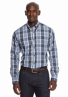 Saddlebred Long Sleeve Non Iron Plaid Shirt