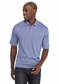 Saddlebred Short Sleeve Box Polo Shirt