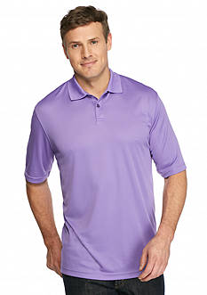 Saddlebred Big & Tall Short Sleeve Solid Polo Shirt