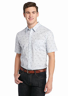 Saddlebred 1888 Short Sleeve Tailored-Fit Bicycle Shirt