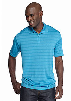 Saddlebred Short Sleeve Stripe Polo Shirt