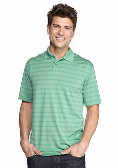 Saddlebred Short Sleeve Stripe Polo Shirt