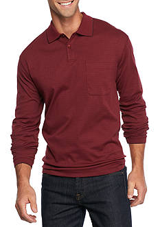 Saddlebred Long Sleeve Box Polo Shirt