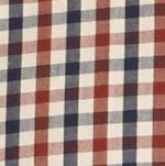 Men: Saddlebred Trends: Russet Saddlebred Long Sleeve Mini Check Poplin Shirt
