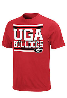 Section 101 by Majestic Georgia Bulldogs Endure and Prevail Tee