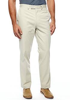Louis Raphael Modern Fit Flat Front Pants