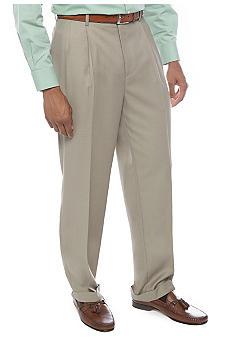 Louis Raphael Classic Fit Comfort Pleat Front Dress Pants