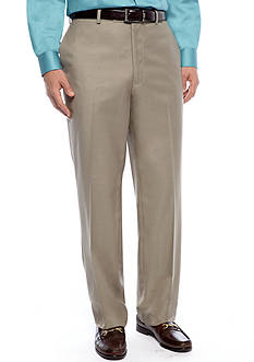 Louis Raphael Hidden Expansion Waistband Flat Front Pants