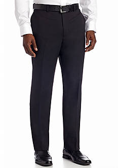 Louis Raphael Comfort Serge Flat Front Pants