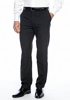Louis Raphael Straight Fit Flat Front Dress Pants