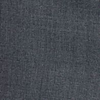 Men: Straight Sale: Mid Gray Louis Raphael Straight Fit Flat Front Dress Pants