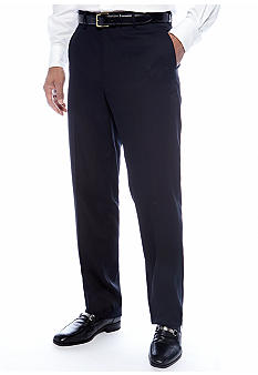 Louis Raphael Classic Fit Flat Front Dress Pants