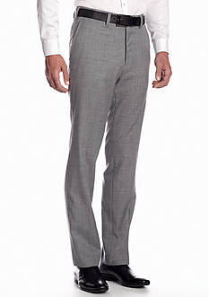 Louis Raphael Tailored 50s Sharkskin Flat Front Pant
