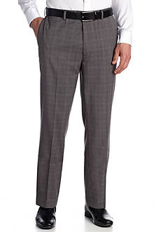 Louis Raphael Heather Windowpane Pants