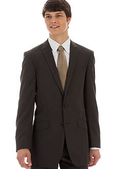 Kenneth Cole Reaction Slim Fit Mini Striped Suit Separate Coat