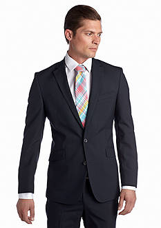 Kenneth Cole Reaction Slim Fit Stripe Suit Separate Jacket