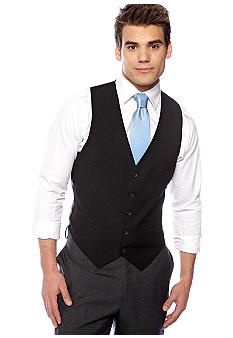 Kenneth Cole Reaction Striped Suit Separate Vest
