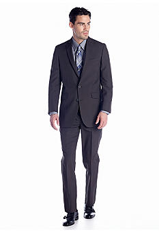 Kenneth Cole Reaction Brown Stripe Suit