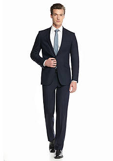 Kenneth Cole Reaction Slim-Fit Tonal Check Suit
