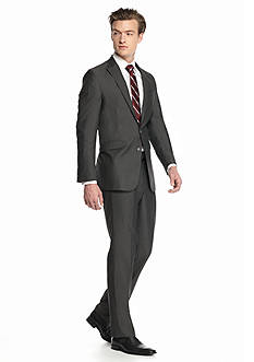 Kenneth Cole Reaction Slim-Fit Stripe 2-Piece Suit