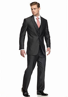 Kenneth Cole Reaction Slim-Fit 3-Piece Suit